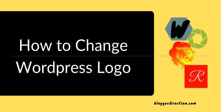 how to change wordpress logo