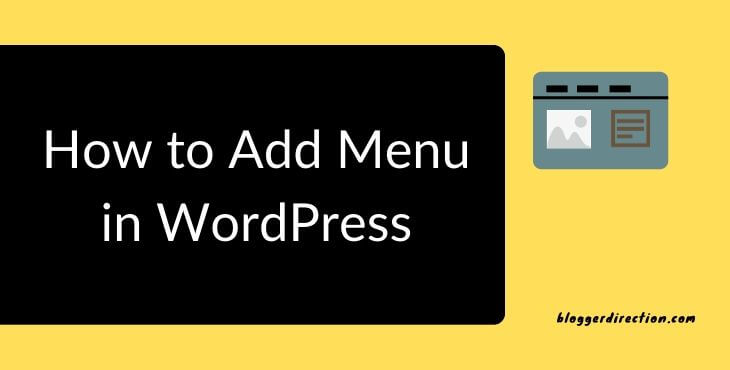 How to Add Menu in WordPress